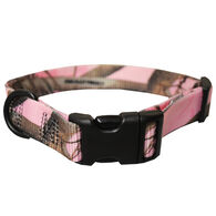 "Scott Pet Adjustable Nylon Collar, Large, 1""W x 12-18""Dia., Pink Realtree"