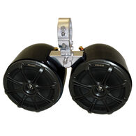 Monster Tower Kicker Double Barrel Speakers With Universal Inserts