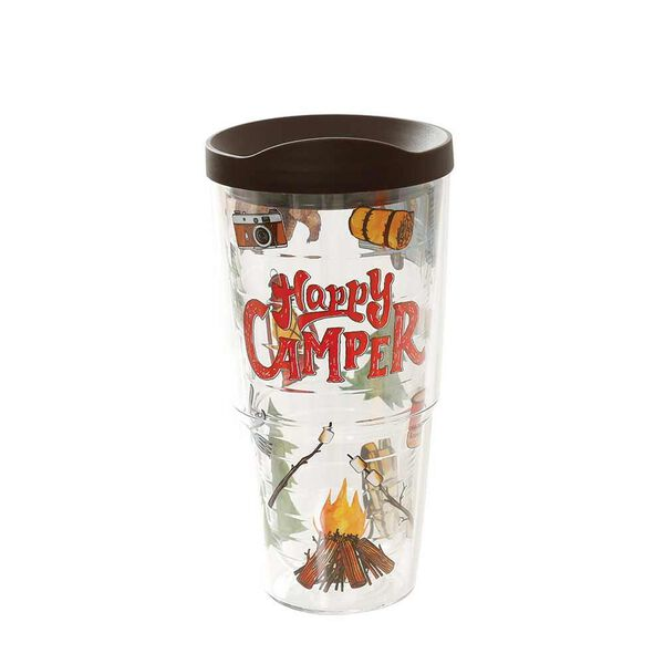 Tervis Tumbler, 24 oz. Happy Camper - Wrap