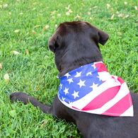 Patriotic American Flag Pet Bandana