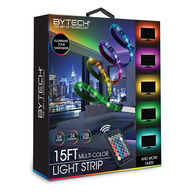 Bytech 15' Multi-Color LED Light Strip