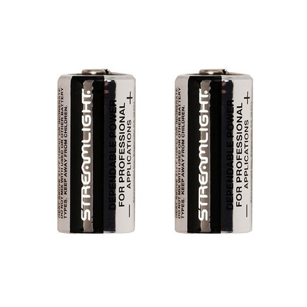 Streamlight CR123 Lithium Battery, 2 Pk.