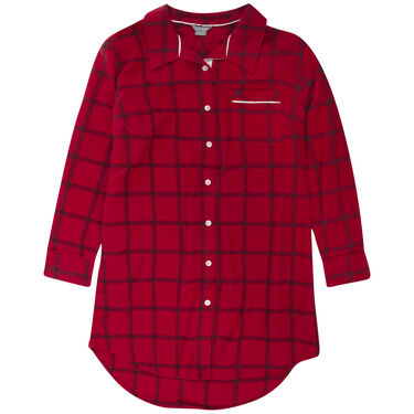 Lazy Mondays Women's Flannel Sleep Shirt