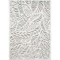Orian Palm Overlay Natural Indoor/Outdoor Rug, Verde 8' x 11'