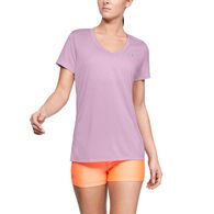 Under Armour Women's UA Tech Twist Short-Sleeve V-Neck Tee