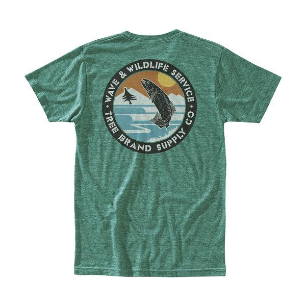 Hippy Tree Men's Wetland T-Shirt
