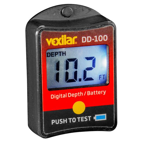 Vexilar DD-100 FL Digital Depth Indicator With Battery Gauge