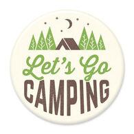 Let's Go Camping Big Magnet