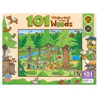 MasterPieces 101 Things to Spot in the Woods 101-Piece Kid's Puzzle
