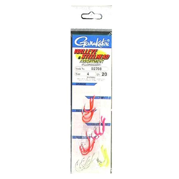 Gamakatsu 20-Piece Walleye Hook Assortment