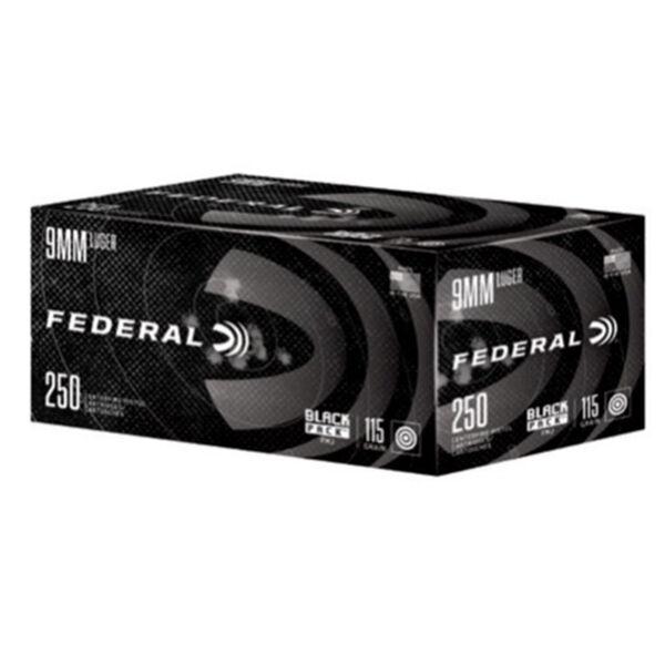 Federal Black Pack Ammo, 9mm Luger