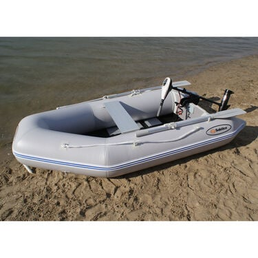 Solstice Sportster 3-Person Runbabout Inflatable Boat, Gray
