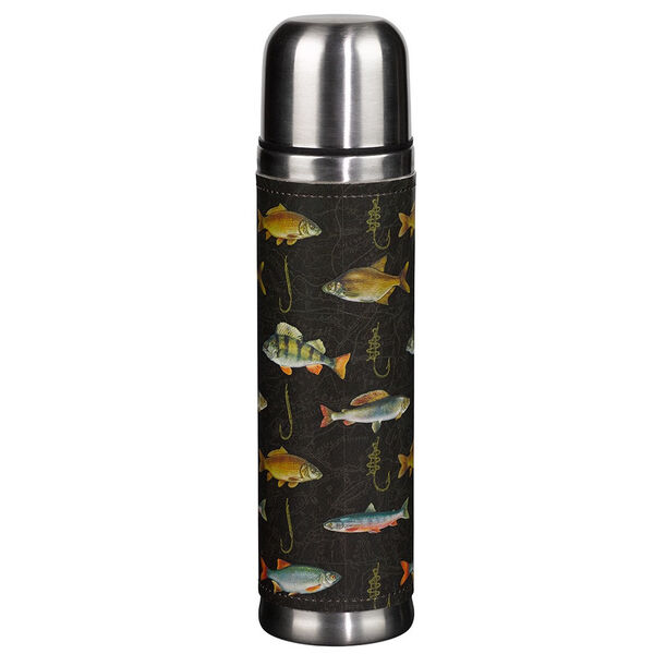 Wild & Wolf Hook, Line, & Sinker Insulated Flask