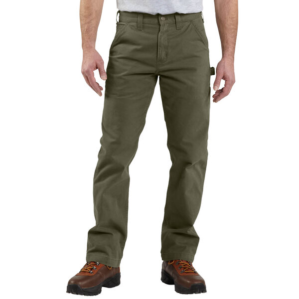 Carhartt Men's Washed-Twill Relaxed-Fit Work Pant