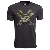Vortex Men's Camo Logo Short Sleeve T-Shirt