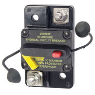 Blue Sea Systems 285 Series Circuit Breaker, Surface Mount, 80 Amp