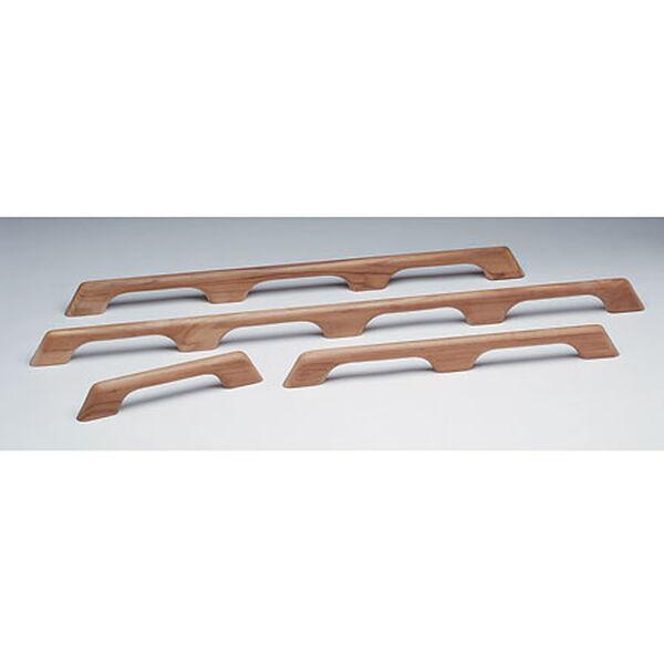 """Whitecap Teak Teak Three-Loop Handrail, 33""""L x 2-3/8""""H x 1""""D"""