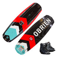 O'Brien Format Wakeboard with Border Bindings
