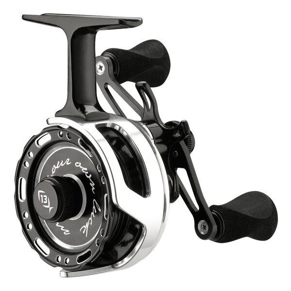 13 Fishing Black Betty 6061 Inline Ice Reel