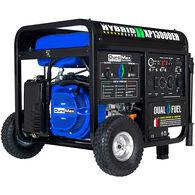 DuroMax Heavy Duty Dual Fuel 13,000-Watt Push Start Generator