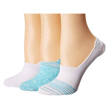 Columbia Women's Space-Dye Mesh Liner Socks, 3-Pack