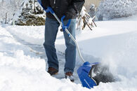 Snow Joe iON13SS-HYB 40-Volt iONMAX Hybrid Cordless + Electric 13-Inch Cordless Snow Shovel Kit