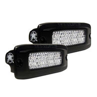 SR-Q PRO Back Light Kit - Flush Mount Diffused - Pair - Black