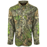 Ol' Tom Men's Mesh-Back Flyweight Shirt with Spine Pad