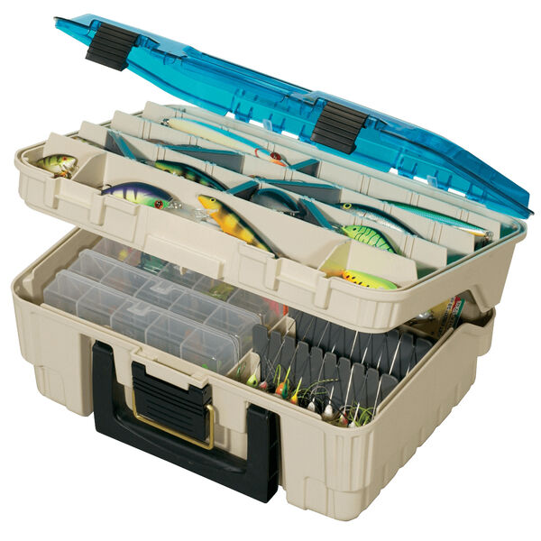 Plano Two-Tier Magnum Satchel Tackle Box