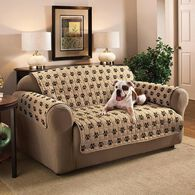 Paw Print Furniture Protector, Loveseat, Seat Width- 46""