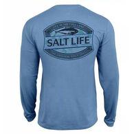 Salt Life Life In The Cast Lane Tee