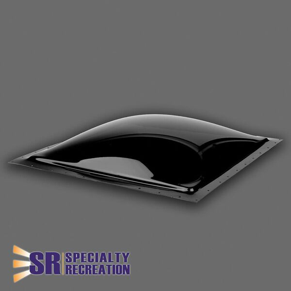 "Thermoformed Polycarbonate 22"" x 22"" RV Skylight, Smoke"
