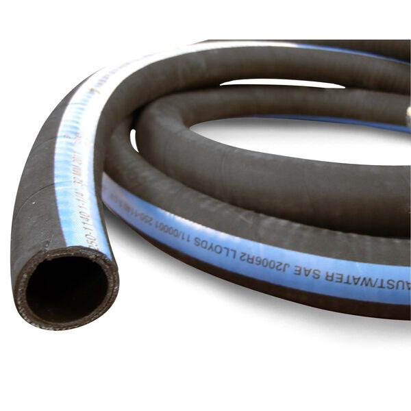 "Shields ShieldsFlex II 2-3/8"" Water/Exhaust Hose With Wire, 10'L"