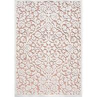 Orian Wexley Natural Indoor/Outdoor Rug, Honeycomb 5' x 8'