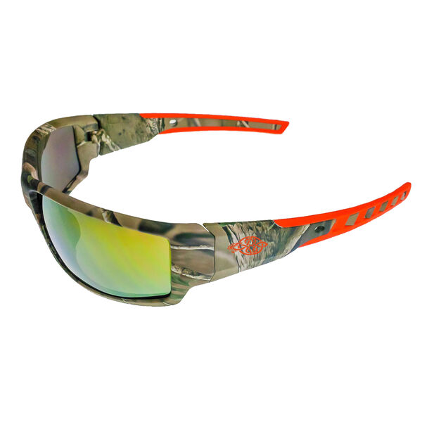 Radians Crossfire Cipher Shooting Glasses, Camo/Orange