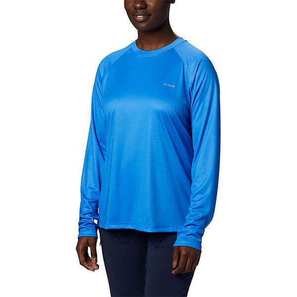 Columbia Women's Tidal Tee PFG Printed Triangle Long-Sleeve Shirt