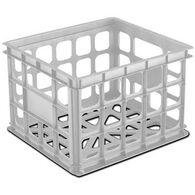 Sterilite Storage Crate, White