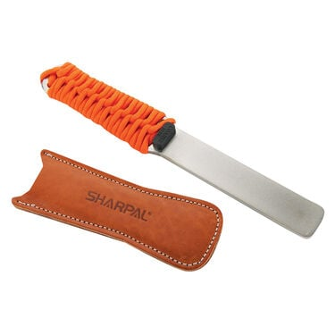 Sharpal Dual-Grit Diamond Sharpener with Leather Strop