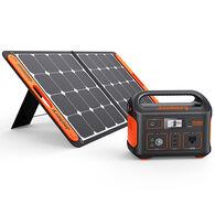 Jackery Explorer 550 Outdoor Portable Power Station and SolarSaga 90-Watt Solar Panel