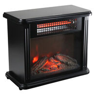 Comfort Zone Infrared Desktop Fireplace Heater
