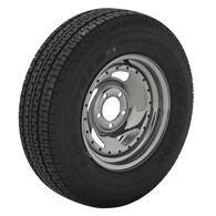 Goodyear Marathon 175/80 R 13 Radial Trailer Tire, 5-Lug Chrome Directional Rim