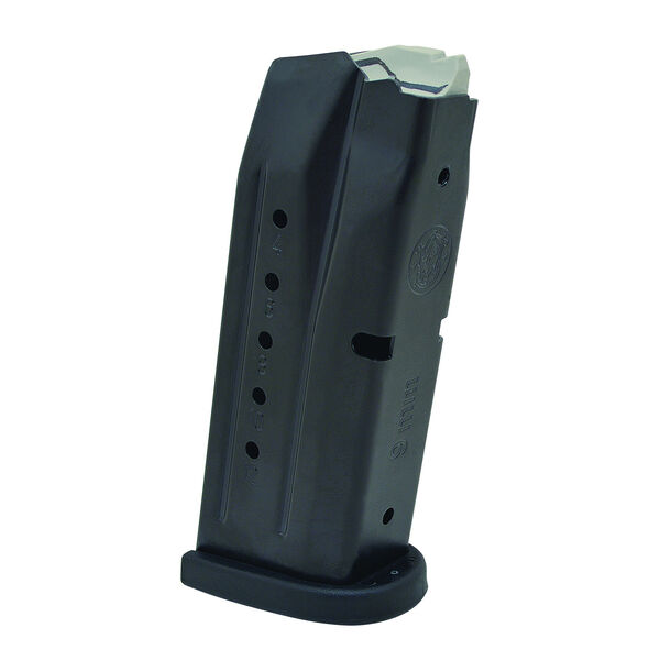 Smith & Wesson M&P Compact 9mm Replacement Magazine with Finger Rest, 12-Round