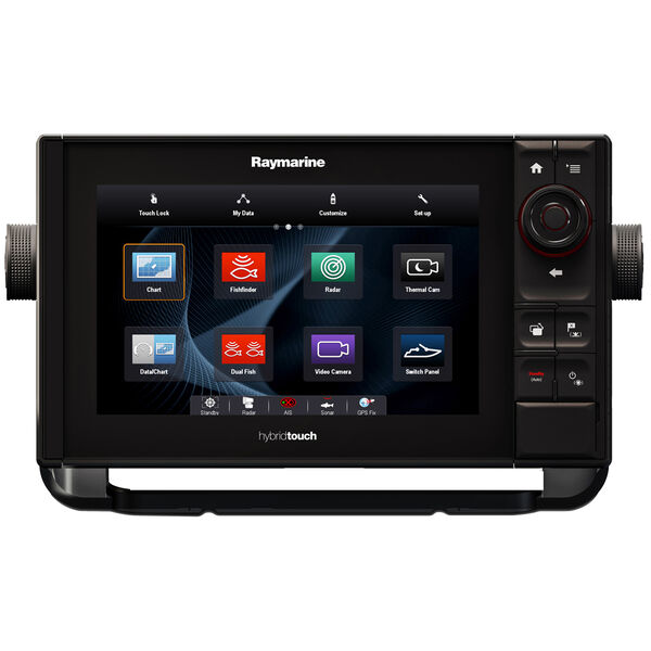 "Raymarine eS98 9"" MFD Combo With CHIRP/DownVision / N Amer Coasts + Lakes"