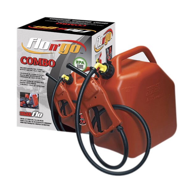 Flo 'N Go Max Flo EPA Combo with 5 Gal. Jerry Can