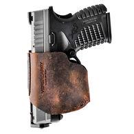 Versacarry Zerobulk Pro Holster, Compact 9mm, RH, Distressed Brown