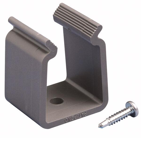 """Pontoon Bimini Top Fitting - 1.25"""" Storage Bracket with Screw"""
