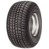 Kenda Loadstar K399 205/65-10 C (20.5 x 8-10) Trailer Tire, White Wheel Assembly