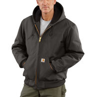 Carhartt Men's Duck Quilted Flannel-Lined Active Jacket