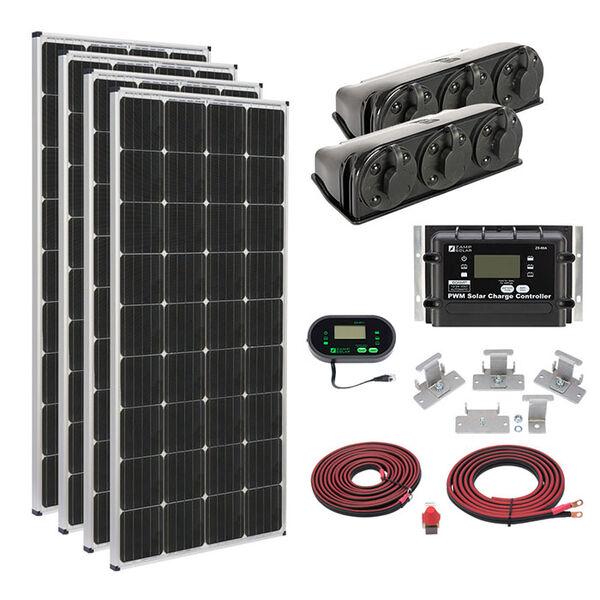 Zamp Solar 680-Watt Roof Mount Kit