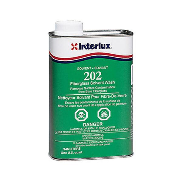 Interlux Fiberglass Solvent Wash, Quart